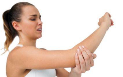 Боль в локте при нагрузке и надавливании