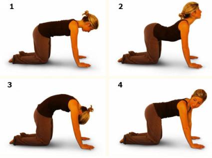 Упражнения для снятия болей