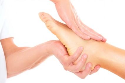 При артрозе стопы массаж