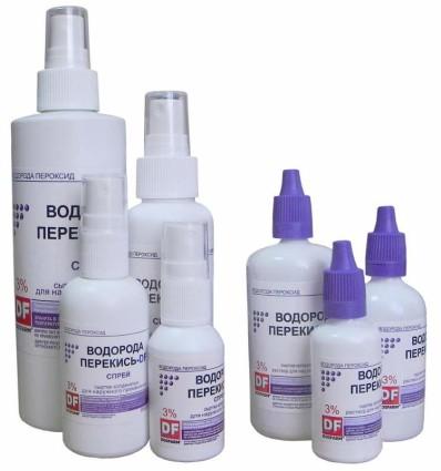 Лечение перекисью водорода является новым средством в медицине