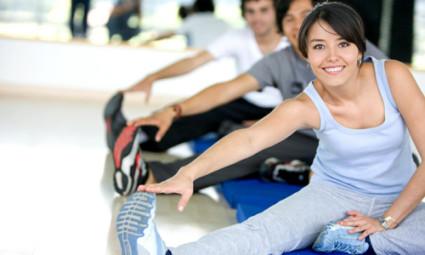 При остеохондрозе полезно заниматься физкультурой