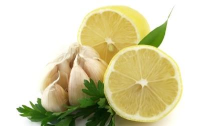 Лимон сельдерей чеснок