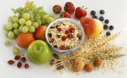 В рационе должна быть пища, богатая белком, овощами, фруктами