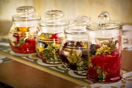 Травяные настойки и чаи