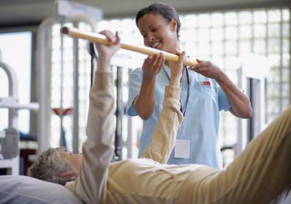 Упражнения при периартрите