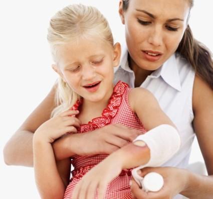 Перелом у детей