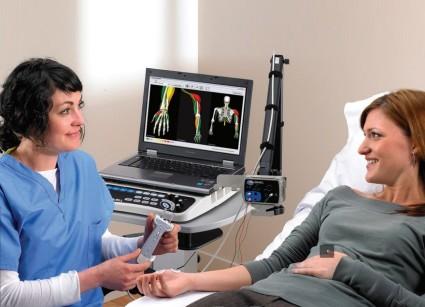 Стимуляционная методика оценивает степень и характер поражения нервов