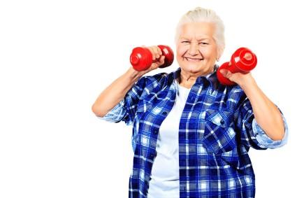 Если в течение жизни не делается зарядка, то в пожилом возрасте человек подвержен компрессии