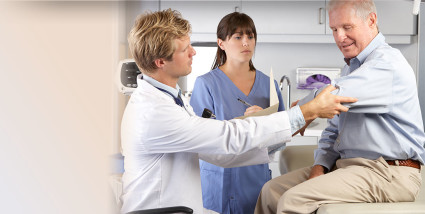 Как только врач снял гипс, рекомендовано проводить упражнения