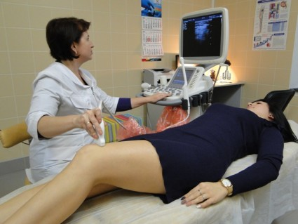Ультразвуковая диагностика изучает мягкие ткани конечностей
