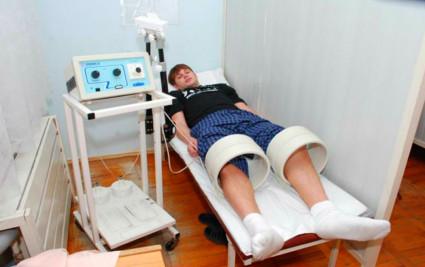 Магнитотерапия позволяет сделать мышцы более крепкими