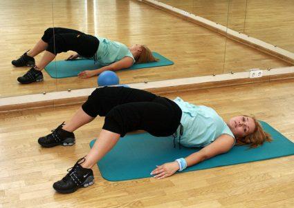 Гимнастика помогает избавится от боли