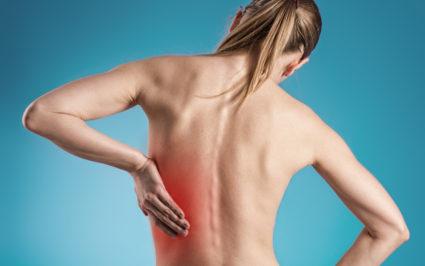 Наиболее распространенным ушибом спины является травма позвоночника