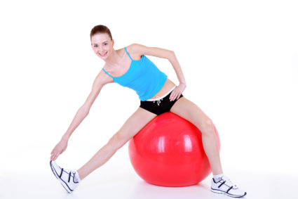 Упражнение № 2-способствует раскрытию и растяжению передней части тела