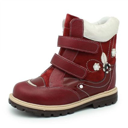 Ношение таких ботиночек предусмотрено при плоскостопии, вальгусно-варусной стопе