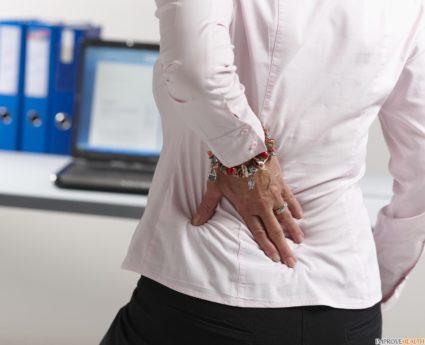 Боль в верхней части грудного отдела позвоночника