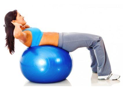 Упражнение № 4-помогает выработке чувства баланса