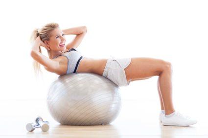 Фитнес-тренировка для укрепления пресса