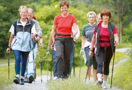 Скандинавская ходьба - вид спорта