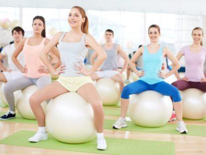Упражнения на фитболе дают устойчивый результат