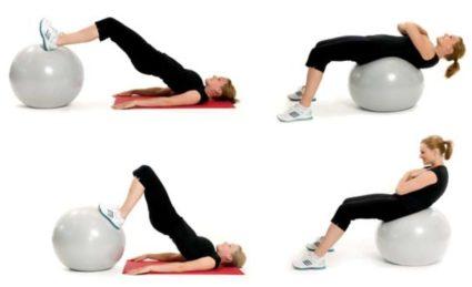 Фитнес-тренировка включает в себя движения, направленные на укрепление мышц спины