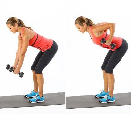 Упражнения с гирей способствуют разработке, накачке почти всех мышц тела