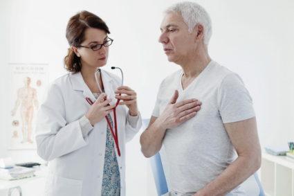 Боли в грудине разделяют на опасные и стабильные