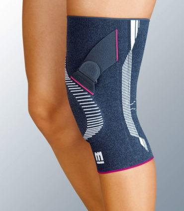 При нагрузках на колени,используйте бандаж