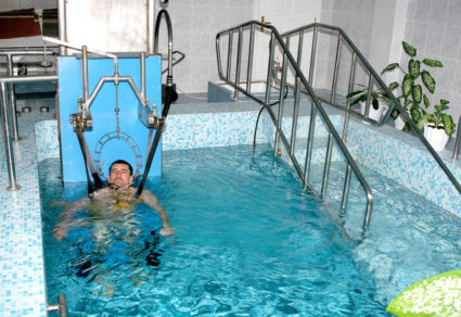 Прибор Евминова,обеспечивает контролируемое скелетное вытягивание