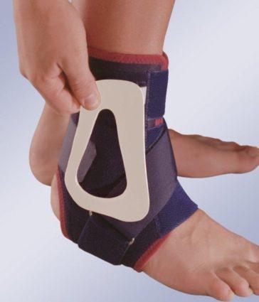 При травмах поможет ортез