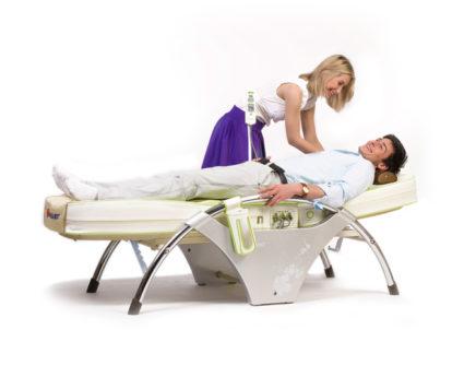 Кровать снимает мышечно-нервное напряжение