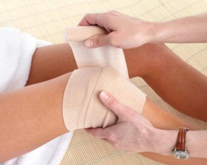 Лечение с помощью согревающего компресса,самое распространённое народное средство