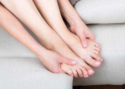 Ноги человека часто устают