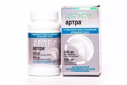 Препараты Артра и Терафлекс для суставов что лучше аналоги