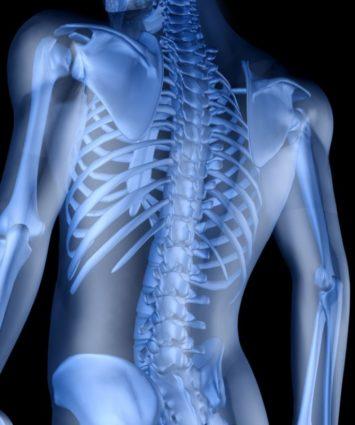 Изменение происходит в оболочке спинного мозга и нервных отростках