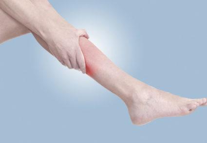 судорога ног