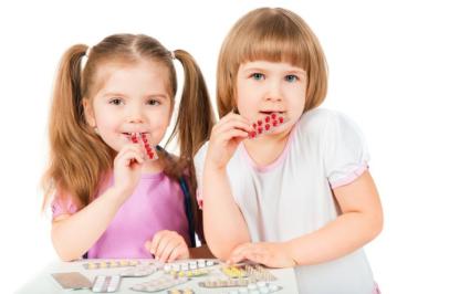 Детям следует ограничивать потребление лекарств