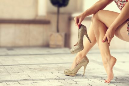 Ахиллово сухожилие на ноге