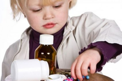 Держите препараты от детей подальше