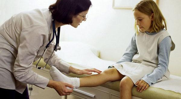 Суставы детей часто подвергаются всевозможным болезням