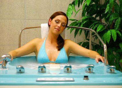 Прием ванн со скипидаром