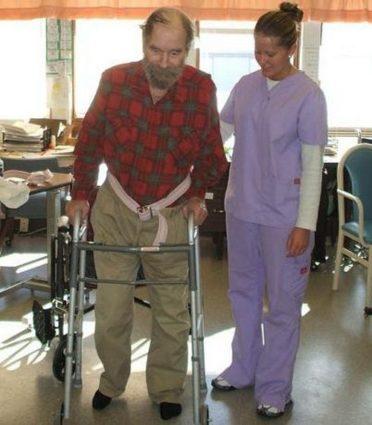 После операции необходимо начинать учиться заново
