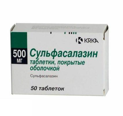 Сульфасалазин - лекарство от артрита