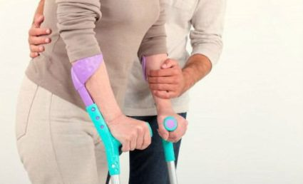После перелома надо беречь травмированную конечность