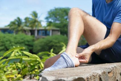 От переутомления может случиться травма ноги