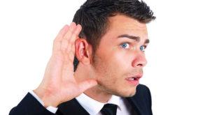 Мужчина не слышит