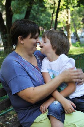 Ребенок болеет синдромом Тричера Коллинза