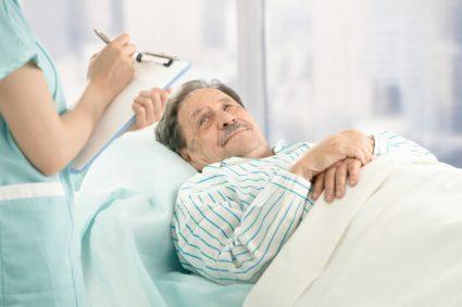 Пациент на лечении