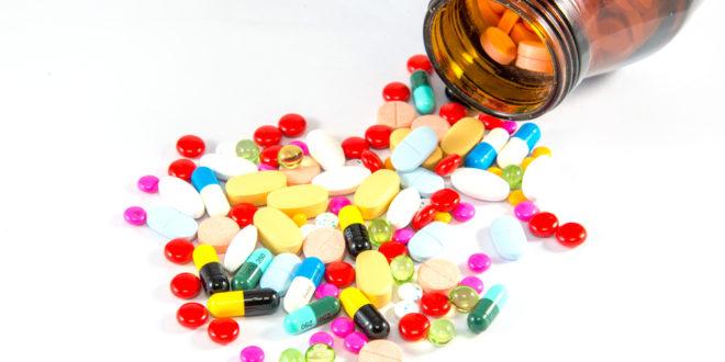 Таблетки из бутылки