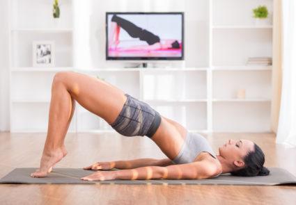 Упражнения для красивой спины